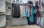 His & Her walk-in closets in the Master Bathroom!