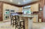 Gourmet kitchen with new stainless steel appliances!
