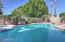 Diving pool with newer diving board and recently resurfaced!