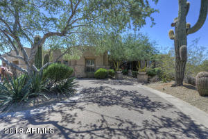Incredible wrap around drive way, 3 car luxury garage on the East side of the home.