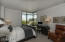 Master bedroom with gorgeous view of Phoenix' best mountains and Hance Park, just steps away - the perfect place to jog, walk the dog or enjoy a concert.