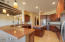Gourmet Kitchen with Granite & Alder Cabinets