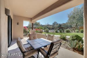 EXTENDED COVERED PATIO RIGHT AT THE COMMUNITY HEATED POOL!