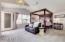 Soaring vaulted ceilings gives your Master Retreat an expansive feel!