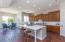 Updated casual yet elegant kitchen