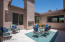 Central courtyard with gas fireplace provides endless entertaining options!