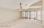 Large upstairs game room/bedroom with access to balcony and a huge walk in closet!
