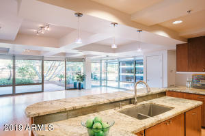 Optima, Old Town Scottsdale, garden terrace, gourmet kitchen, fitness center