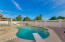 Pool with diving board is perfect for entertaining