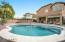 2016 installed pebbletec saltwater pool.