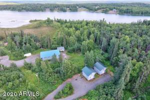 8.34 Acres, Three Homes, Warehouse, Floatplane sandy beach and basin. Building lots.