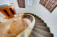 Upgraded carpet on stairs and gorgeous Iron Railing!