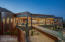 Glass bridge leads you to the guest house, heated infinity edge pool & spa