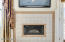 Remodeled gas fireplace