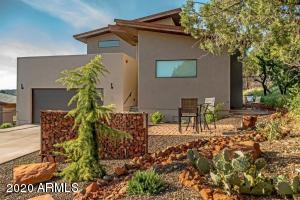 This Modern 2018 built custom Sedona home has an element all its own!