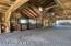 Interior view of Barn with 2 hay lofts