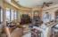 Open floor plan boasts large den open to kitchen