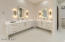Stunning Master Batroom w/ Floating Custom Cabinets