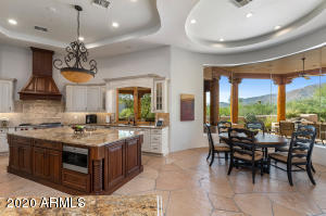 Open and bright remodeled kitchen