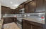 Custom cabinetry with dovetail joinery.