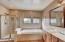 2nd Floor Master Bathroom with HUGE oversized walk-in Closet!!