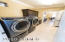 Newer washer/dryer stay in this easy access laundry room
