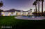 Backyard- Pool can change colors, large irrigated lot with grass and sprinklers, 3 RV gates, covered patio with pavers
