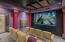 FUN MOVIE THEATER ROOM! Get away from it all & enjoy upgraded sound system & projector!