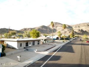 Property is nestled up against North Mountain in Central Phoenix