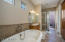 Stand Alone Tub, Large Shower & Dual Vanities