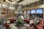 Great room with sliding glass pocket doors