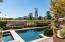 Salt water pool with fantastic views