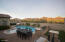 Private backyard with show stopper McDowell mountain views in DC Ranch.