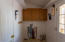 Laundry room with Pex plumbing