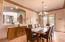 French door entry from the front of the home into your formal dining room.
