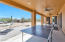 Huge extended patio with plenty of room for entertaining