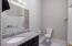 Hall bathroom!