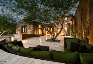 Front Courtyard, Twilight