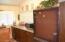 Kitchen and refrigerator