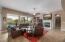 Gorgeous tiled flooring ,neutral decor.