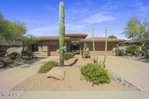 Enjoy a central courtyard and 3-car garage.