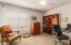 Full Bedroom/Office Downstairs.