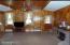 Stunning Knotty-Pine Living Room