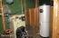 New boiler & hot water storage tank