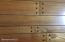 Random width pegged hardwood floors
