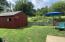 Fenced in back yard