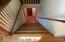 Stairway going upstairs.