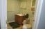 Basement Level 1/2 Bath