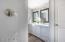Second floor bath with double vanity