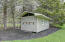 Building can be used for animals, equipment storage, potting shed. 16 x8.4.